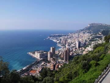 Ein erster traumhafter Blick auf Monaco
