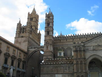 Kathedrale in Palermo