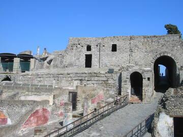 auf dem ereignisreichen Boden von Pompeji