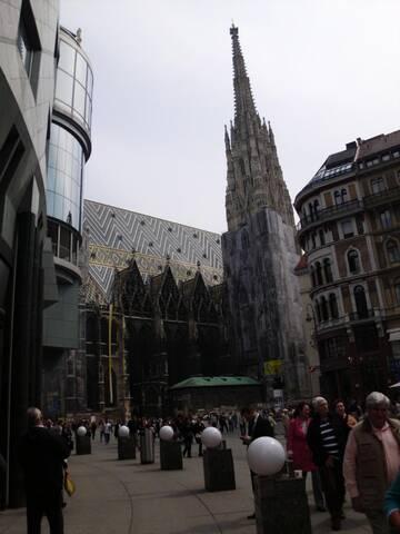 Der Stephansdom heißt uns in Wien herzlich Willkommen!