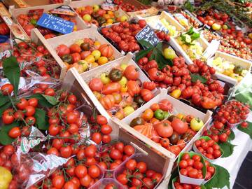 wie z.B. leckere Tomaten ...