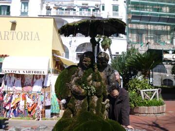 ein Wasserbrunnen in Amalfi