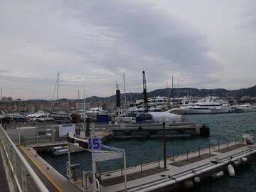 Der Hafen von Cannes
