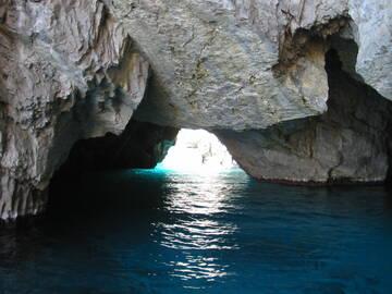 die grüne Grotte