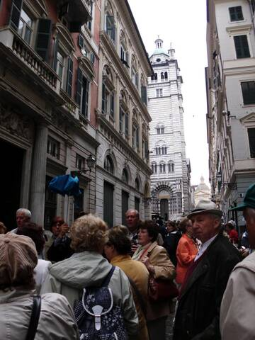 Stadtbummel durch Genua