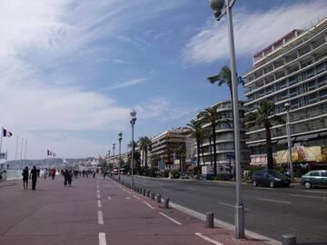 Auf den Straßen von Cannes