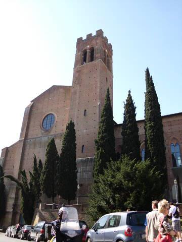Herzlich Willkommen im schönen Siena in der Toskana