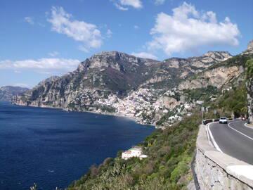 die herrliche Amalfiküste
