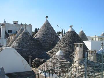Über den Dächern der Trullis