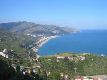 Blick auf den Golf von Messina